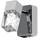 REA! Eglo 95292 LED-Väggspotlight Cantil 1X3,3W krom/transparent