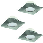 REA! Eglo 95803 LED-Spotlight 3-set Pineda 3X6W stål