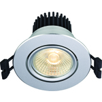 NettoPriser! Markslöjd Apollo LED (3-Set) Downlight Vit fast LED 5W IP21