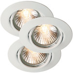 Nordlux Triton 3-Kit Downlight Vit 3X35W GU10 IP23