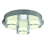 LjusREA! Philips myBathroom Resort taklampa 3x4,5W krom