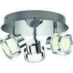 LjusREA! Philips myBathroom Resort spotlight 3x4,5W krom