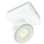 SpecialPriser! Philips myLiving Clockwork Spotlight Vit 1X5W IP20