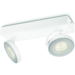 LjusREA! Philips myLiving Clockwork Spotlight Vit 2X5W IP20
