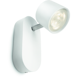 LjusREA! Philips myLiving Star Vägglampa Vit 1x4W LED IP20