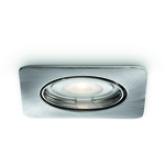 SuperREA! BEGRÄNSAT PARTI! Philips SmartSpot Alcor Infälld spotlight Nickel 1x35W GU10 IP23