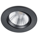 SpecialPriser! Trio LED-downlight Pamir Ø85x54mm matt svart IP23