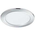 Super-REA! Trio LED-downlight Pindos Ø225x28mm krom IP44