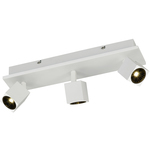 SpecialPriser! Trio LED-takspotlight  Cuba 155x420x85 mm matt vit